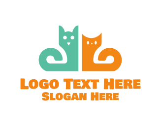 Green Dog - Dog & Cat logo design