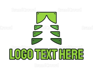 Landscape - Forestry Tree logo design
