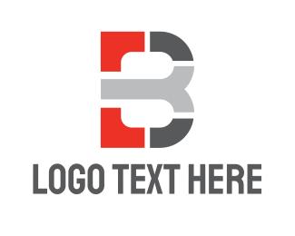 Car Emblem - Mosaic Modern B logo design