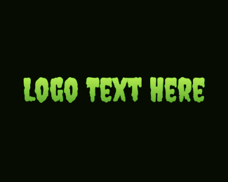 Gooey - Green & Slimy logo design