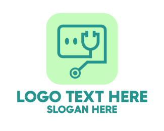 Doctor - Medical Stethoscope App logo design