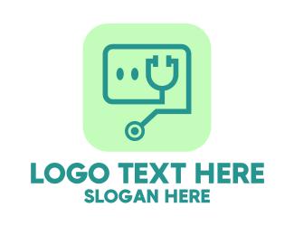 Medical Stethoscope App Logo