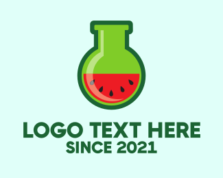 Melon - Watermelon Lab logo design