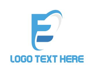 Galaxy - Modern Galaxy E logo design
