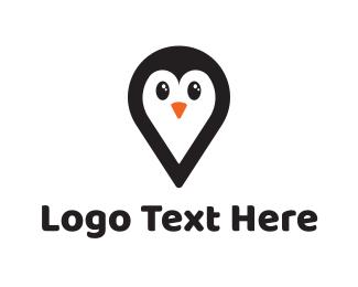 Penguin - Penguin App logo design