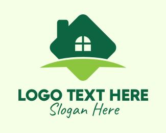 House Buying - Green Real Estate Property logo design