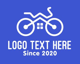 Mtb - Bike Shop Garage logo design