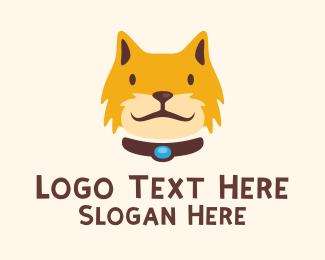 Furry - Smiling Furry Cat  logo design