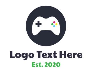 Nintendo - Circle Controller logo design