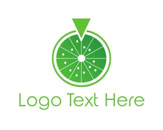 Wheel - Lemon Wheel logo design