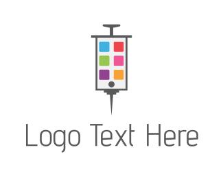 Medicine - Phone Medicine logo design