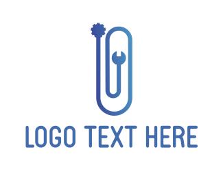 Gear - Clip Gear logo design