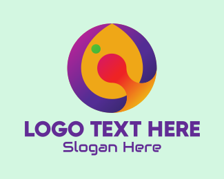 Gaming Equipment - Multicolor Digital Letter Q logo design