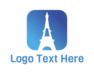 Mobile Phone - Eiffel App logo design