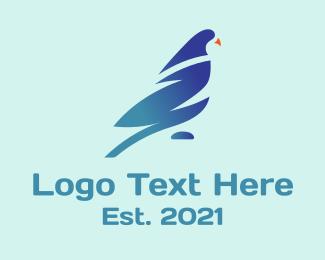 Finance - Corporate Gradient Bird logo design