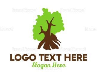 Berlin - German Arborist logo design