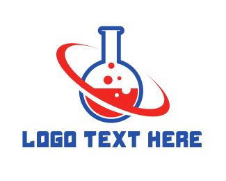 Scientist - Chemical Planet logo design