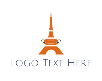 Orange Tower - Orange Tower Price Tag logo design
