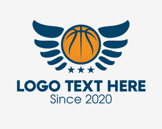 Wings - Basketball Wings  logo design