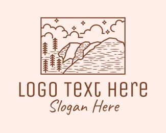 Explorer - Outdoor Wilderness Landscape logo design