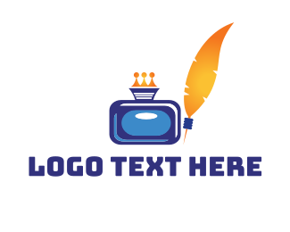 Cmyk - Royal Inkwell logo design