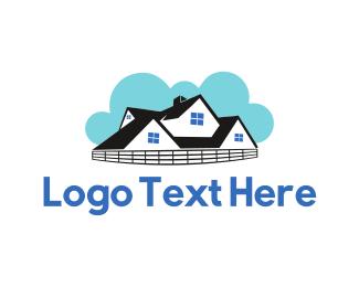 Estate Agency - Cloudy House logo design
