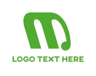 Elephant - Elephant Letter M logo design