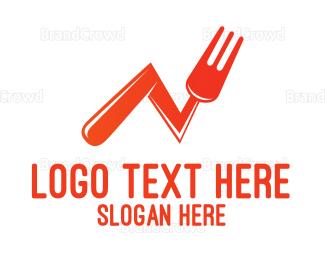 Food Blog - Food Statistics logo design