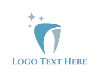 Shiny - Shiny Tooth logo design