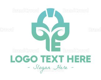 Key - Eco Realty Key  logo design