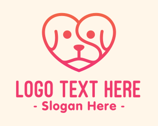 Doggy - Pet Love Care logo design
