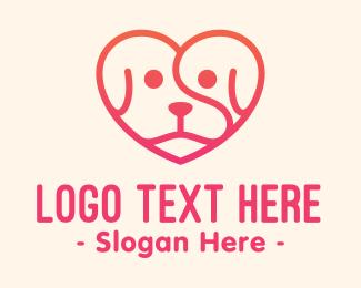 Pet - Pet Dog Love Care logo design
