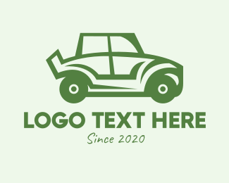 Suv - Green Automotive Vehicle Car logo design