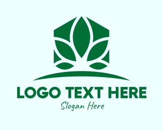 Landscaping - Home Plant Landscaping logo design