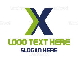 Extreme - Modern X logo design