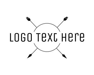 Text Logo - Bohemian Arrow Wordmark logo design