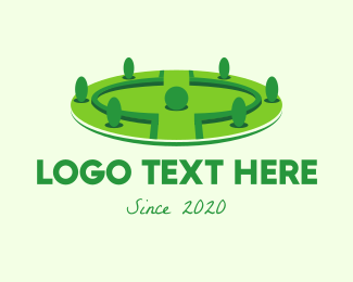 Grass - Landscaping Park  logo design