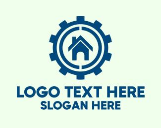 Service - House Repair Service logo design