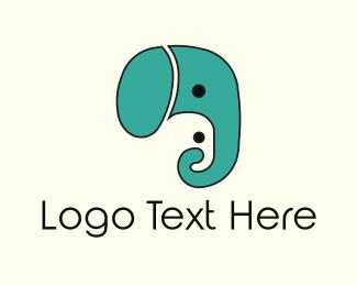 Parenting - Elephant Faces logo design