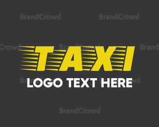 """""""Taxi Font"""" by BrandCrowd"""