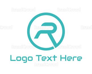 Modern - Modern Letter R logo design