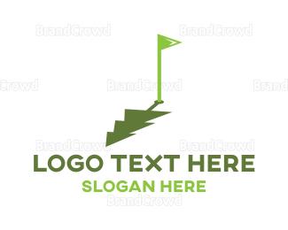 Shadow - Golf Pine logo design