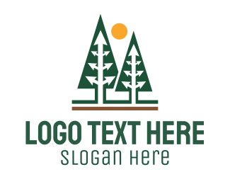 Forest - Arrow Forest logo design