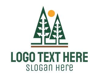 Forest - Arrow Forest logo design