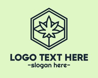 Box - Weed Box logo design