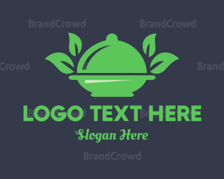Food Blog - Green Food logo design