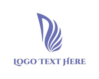 Swan - Purple Swan logo design