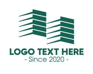 Company - Blue Company Structure logo design