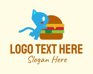 """""""Burger Monster Mascot"""" by JimjemR"""