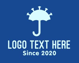 Shade - Virus Umbrella Protection logo design